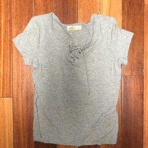 Gray hollister shirt